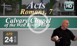 Calvary Chapel: April 24, 2015