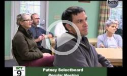 Putney Selectboard Mtg. 10/9/13