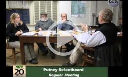 Putney Selectboard Mtg. 11/20/13