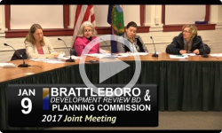 Brattleboro Planning Commission/DRB Joint Mtg 1/9/17