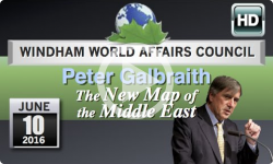WWAC: Peter Galbraith - New Map of the Middle East 6/10/16