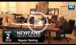 Newfane Selectboard Mtg 5/2/16