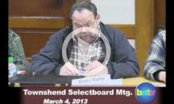 Townshend Selectboard Mtg. 3/4/13
