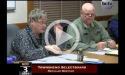 Townshend Selectboard Mtg 11/03/14