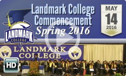 Landmark College Graduation: 2016 Spring Commencement