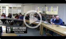 West River Education District Board Mtg 2/18/19