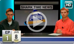 Landmark Broadcasters: 2016 J-Term- Shark Time News, Ep1