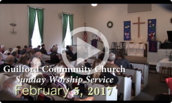 Guilford Church Service - 2/5/17
