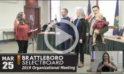 Brattleboro Selectboard Organizational Mtg 3/25/19