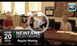 Newfane Selectboard Mtg 6/20/16