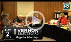 Vernon Selectboard Mtg 5/2/16