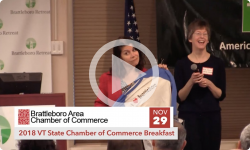BACC: VT State Chamber of Commerce Breakfast 11/29/18