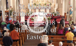 Mass from Sunday, April 22, 2018