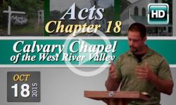 Calvary Chapel: October 18, 2015
