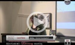 2014 Brattleboro Literary Festival: Laurel Neme