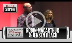 Brattleboro Literary Festival 2016: Robin MacArthur, Jensen Beach