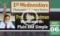 1st Wednesdays Presents - Prof. Huck Guman 3/6/19