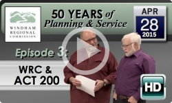 Windham Regional Commission 50th: Act 200
