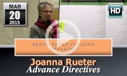 Brattleboro Citizens Breakfast: Joanna Rueter