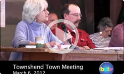 2012 Townshend Town Meeting: 3/06/12