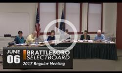 Brattleboro Selectboard Mtg 6/6/17