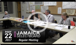 Jamaica Selectboard Mtg 5/22/17