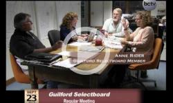 Guilford Selectboard Mtg. 9/23/13