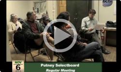 Putney Selectboard Mtg. 11/6/13