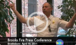 Brooks House Fire Press Conference 4/19/11