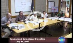 Townshend Selectboard Mtg. 7/15/13