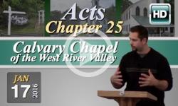 Calvary Chapel: January 17, 2016
