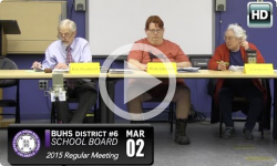 Brattleboro Union High School Board Mtg 3/2/15
