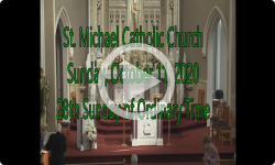 Mass from Sunday, October 11, 2020