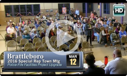 2016 Brattleboro Special Rep Town Mtg 3/12/16