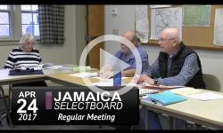 Jamaica Selectboard Mtg 4/24/17