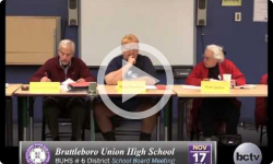 Brattleboro Union High School Bd. Mtg 11/17/14