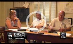 Putney Selectboard Mtg 6/29/16