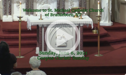 Mass from Sunday, June 6, 2021