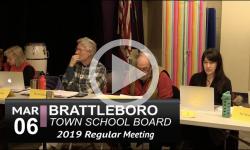 Brattleboro Town School Bd Mtg 3/6/19
