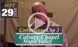 Calvary Chapel: Corinthians Chp 3