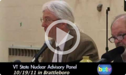 VT State Nuclear Advisory Panel 10/19/11