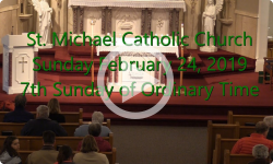 Mass from Sunday, February 24, 2019
