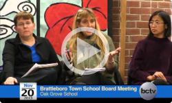 Brattleboro Town School Bd. Mtg. 11/20/13