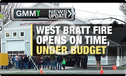 GMMT: West Bratt Fire opens under budget 4/25/17 (News Clip)