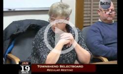Townshend Selectboard Mtg 1/19/15