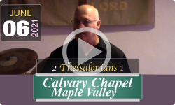 Calvary Chapel Maple Valley: 2 Thessalonians 1