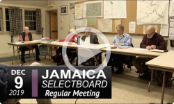 Jamaica Selectboard Mtg 12/9/19