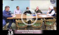 Dummerston Selectboard Mtg 2/18/15