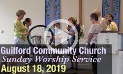 Guilford Church Service - 8/18/19