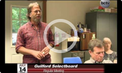 Guilford Selectboard Mtg July 14, 2014